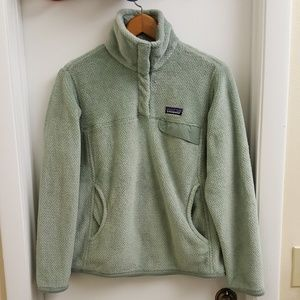 😍 Patagonia re-tool snap T fleece pullover size M